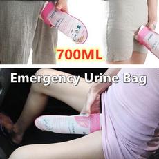Mini, camping, womentoilet, emergencyurinebag