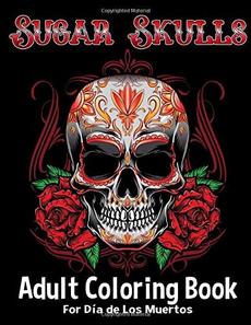 coloringbook, sugarskullsadultcoloringbook, Beautiful, Book