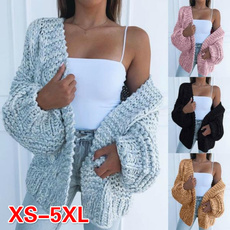 sleeve v-neck, Casual Jackets, cardigan, tunic