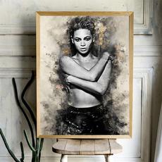 decoration, canvasprint, art, americanfemalesinger