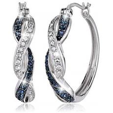 Sterling, DIAMOND, 925 sterling silver, Sapphire