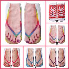 Flip Flops, Cotton Socks, Cotton, flipflopssock