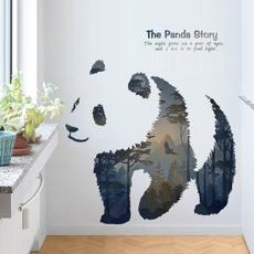 Home Decor, Sofas, walldecoration, pandastickerdecal