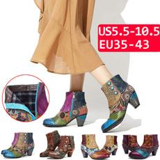 ankle boots, uniqueboot, boho, leather