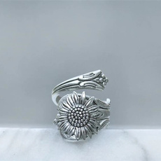 Sterling, bohemia, bohemiaring, wedding ring
