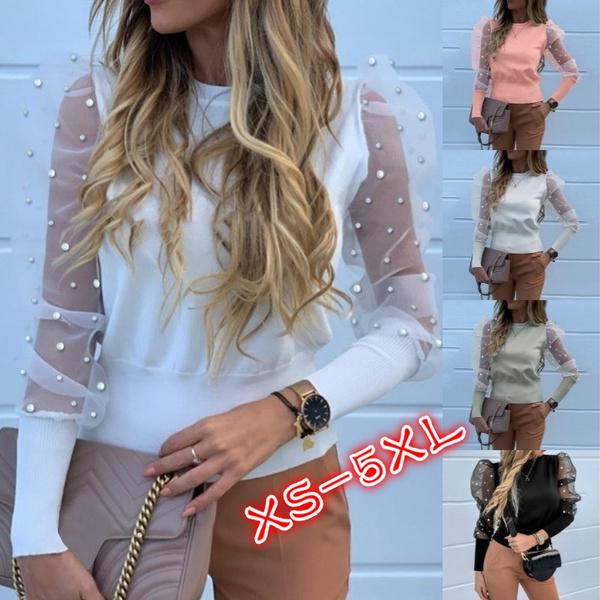 blouse, patchworktop, Plus Size, Tops & Blouses