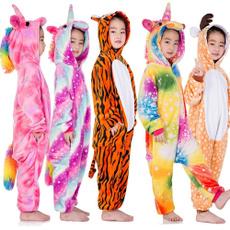 Boy, pyjama, rainbow, unicornio