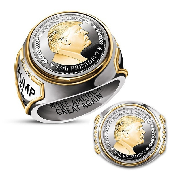 Sterling, 18k gold, 925 sterling silver, trump
