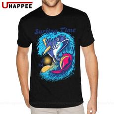 summercasualunisex, Fashion, fish, short sleeves