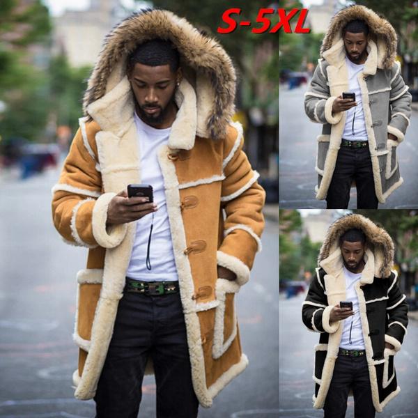 fur coat, men coat, Plus Size, cashmerejacket