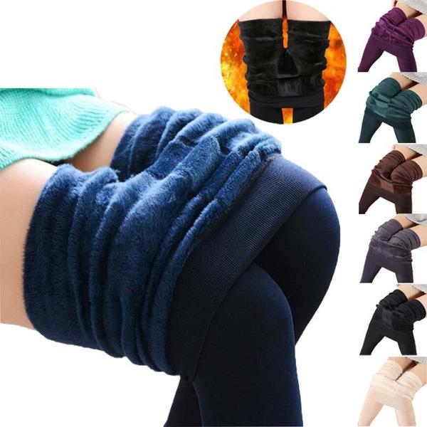 Leggings, Warm Leggings, Winter, Fleece