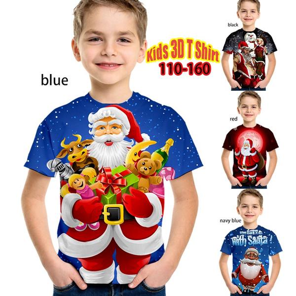 Fashion, Christmas, Sleeve, summer t-shirts