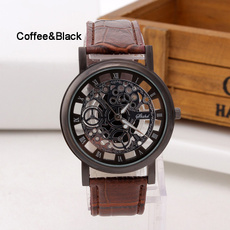Steel, Fashion, Stainless Steel, leatherwatcheswomen