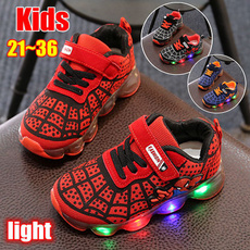 childrenrunningshoe, shoes for kids, Sneakers, light up
