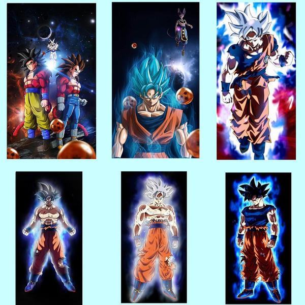wallpictureslivingroom, art, animedragonball, canvaspainting