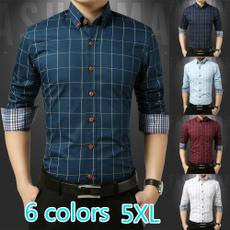 plaid shirt, Fashion, formal shirt, Shirt