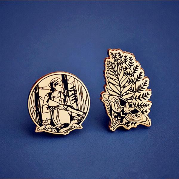 thelastofu, Cosplay, Jewelry, Pins