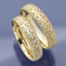 Beautiful, Engagement Wedding Ring Set, wedding ring, gold