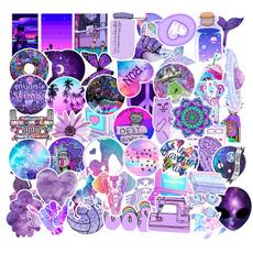 Car Sticker, suitcasesticker, Cup, purple