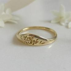 Fashion, wedding ring, gold, Bride