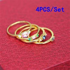 18k gold, wedding ring, gold, Diamond Ring