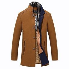 men coat, slim, Winter, Coat