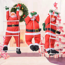 hangingsantaclau, party, christmastreependant, Christmas