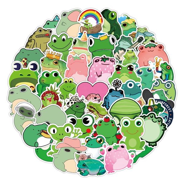 frogsticker, Car Sticker, Laptop, suitcasesticker