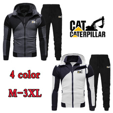 Zipper Mens Hoodies, Two-Piece Suits, pullover sweater, Long Sleeve