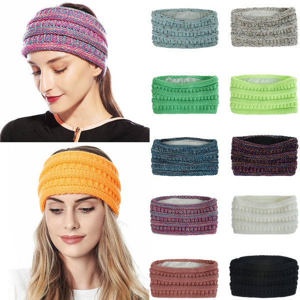 knittedheadband, widehairband, Winter, Head Bands