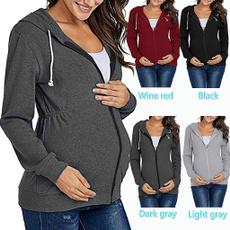 breastfeeding tops, Fashion, maternity hoodies, nursingclothe