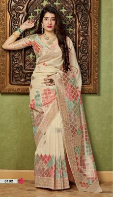 Beautiful, saree, banarasisilk, Bold