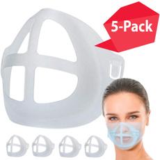 maskface, facebracket, plasticmaskinsert, Silicone