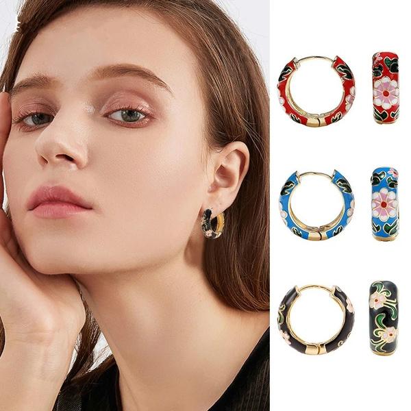 Vintage, Hoop Earring, Jewelry, Earring