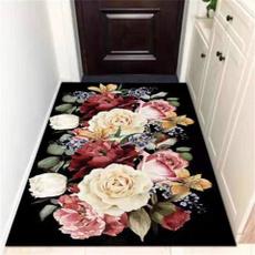 hallway, Ванна кімната, Flowers, Door