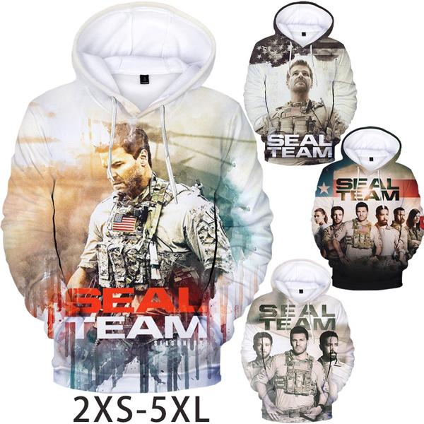 Funny, hooded, pullover hoodie, sealteamhoodie