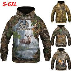 3D hoodies, hooded, mensfahionhoodie, Hunting