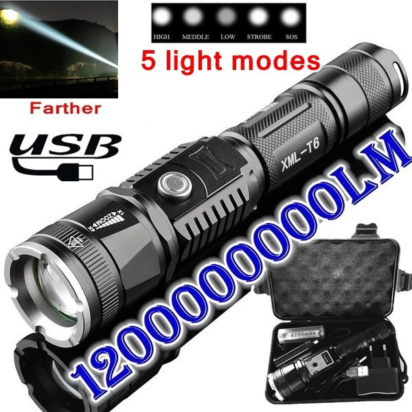 Flashlight, Outdoor, led, usb