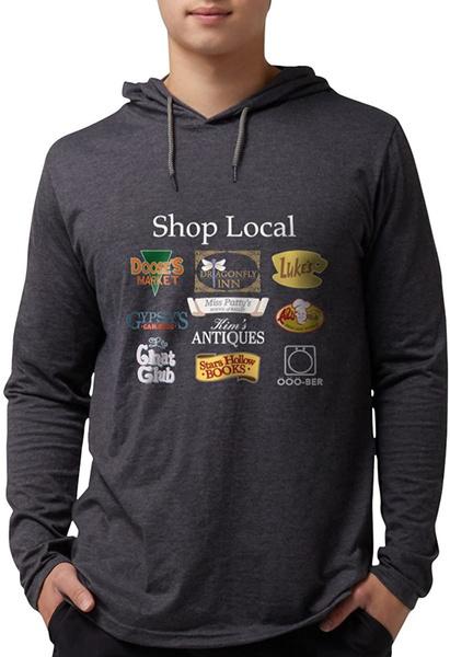 Shop, hooded, Shirt, Men