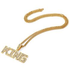 goldplated, King, Fashion, Jewelry
