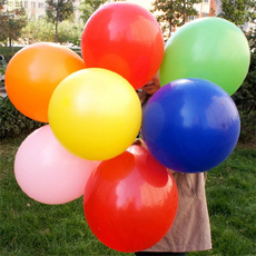 latex, Thickened, Balloon, Large