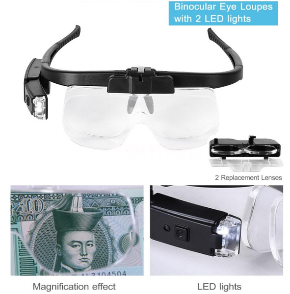 digitalmagnifier, Rechargeable, eye, binoheadmagnifier