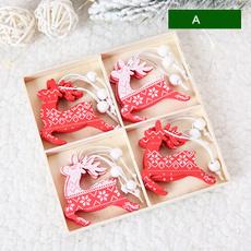 Christmas, Ornament, Deer, creativity