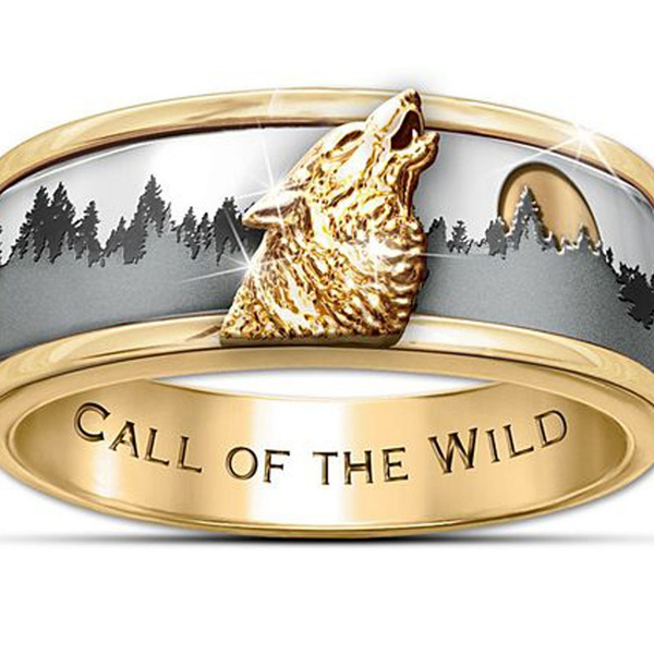 ringsformen, Fashion, goldplated, gold