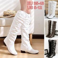 Knee High Boots, midcalfboot, Platform Shoes, Winter