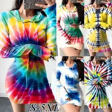 hooded, sleeve dress, Sleeve, Long Sleeve