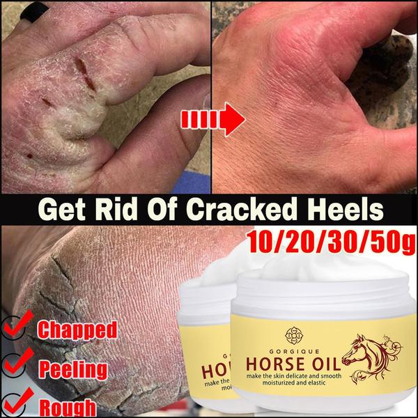 crackedheel, repairing, horse, antichapped