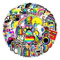 Car Sticker, colorsticker, suitcasesticker, Laptop