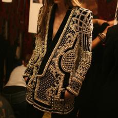 jacketforwomen, formaljacket, womenslimfitcoat, Long Sleeve