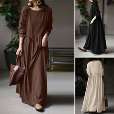 dressesforwomen, Cotton, long sleeve dress, Sleeve